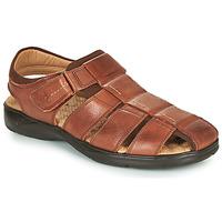 Schuhe Herren Sandalen / Sandaletten Fluchos DOZER Braun