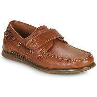 Schuhe Herren Bootsschuhe Fluchos POSEIDON Braun