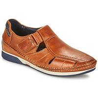 Schuhe Herren Sandalen / Sandaletten Fluchos JAMES Braun / Marine / Rot