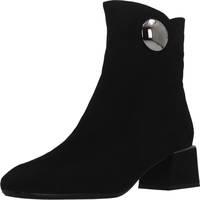Schuhe Damen Low Boots Café Noir HA940 Schwarz