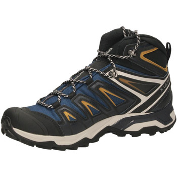 Schuhe Herren Fitness / Training Salomon X ULTRA 3 MID GTX blu-nero