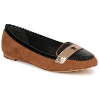 Schuhe Damen Slipper C.Petula KING Camel