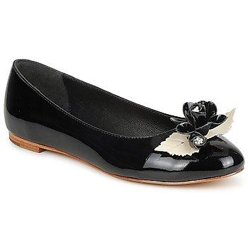 Schuhe Damen Ballerinas C.Petula MUCHACHA Schwarz