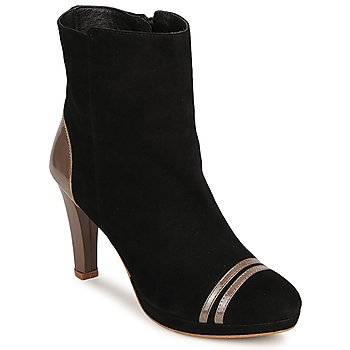 Schuhe Damen Low Boots C.Petula KIMBER Schwarz