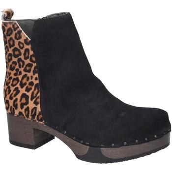 Schuhe Damen Boots Softclox Stiefeletten Jaemi S3493 schwarz