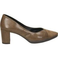 Schuhe Damen Pumps Daniela Vega 1676 Marron