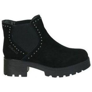 Schuhe Damen Low Boots Chika 10 LEONOR 05 Noir