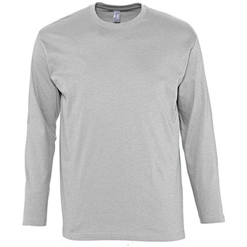 Kleidung Herren Langarmshirts Sols MONARCH COLORS MEN Gris
