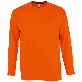 Kleidung Herren Langarmshirts Sols MONARCH COLORS MEN Naranja