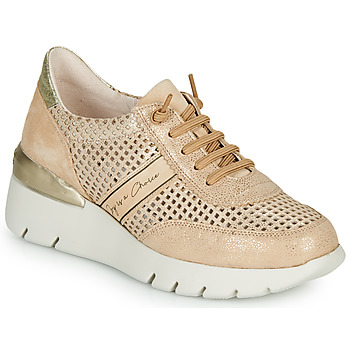 Schuhe Damen Sneaker Low Hispanitas RUTH Rose / Gold / Weiss