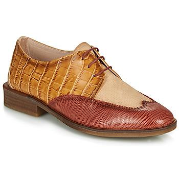 Schuhe Damen Derby-Schuhe Hispanitas LONDRES Braun