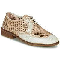 Schuhe Damen Derby-Schuhe Hispanitas LONDRES Beige / Weiss