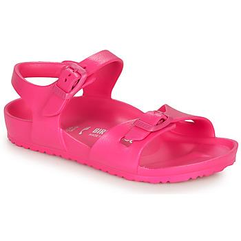 Schuhe Mädchen Sandalen / Sandaletten Birkenstock RIO EVA Pink
