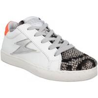 Schuhe Kinder Sneaker Low Semerdjian 125862 Weiss