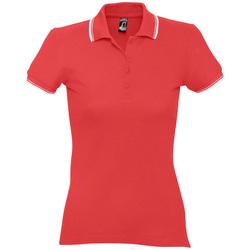 Kleidung Damen Polohemden Sols PRACTICE GOLF SPORT Rojo