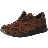 Schuhe Damen Slipper Sioux Schnuerschuhe diverse Übergangsware braun