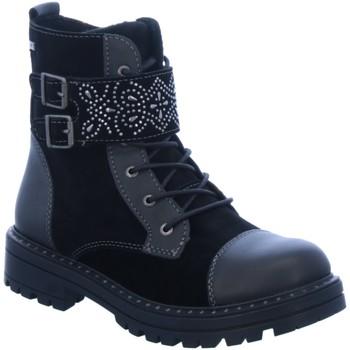 Schuhe Mädchen Boots Lurchi By Salamander Schnuerstiefel 33-39003-01 schwarz