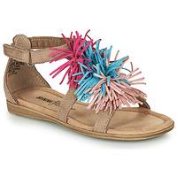 Schuhe Mädchen Sandalen / Sandaletten Minnetonka ELOISE Maulwurf
