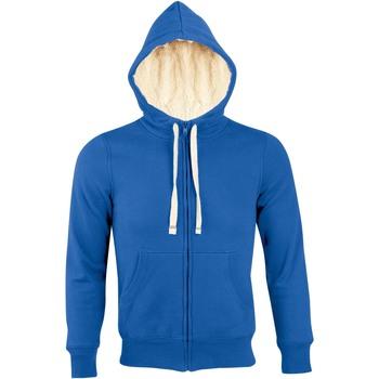 Kleidung Herren Sweatshirts Sols SHERPA WINTER MEN Azul