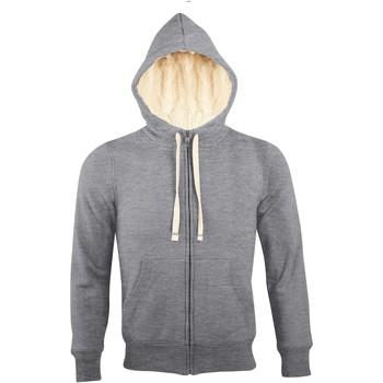 Kleidung Herren Sweatshirts Sols SHERPA WINTER MEN Gris
