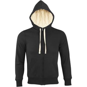 Kleidung Herren Sweatshirts Sols SHERPA WINTER MEN Negro
