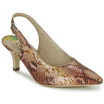 Schuhe Damen Pumps Dorking MOON Braun