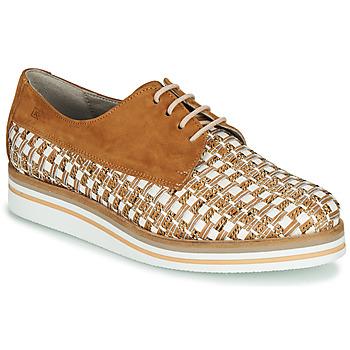 Schuhe Damen Derby-Schuhe Dorking ROMY Braun / Weiss