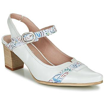 Schuhe Damen Pumps Dorking LEA Weiss