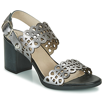 Schuhe Damen Sandalen / Sandaletten Dorking NORQUI Silbern