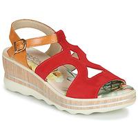 Schuhe Damen Sandalen / Sandaletten Dorking YAP Rot