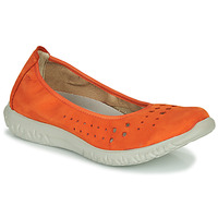 Schuhe Damen Ballerinas Dorking SILVER Orange