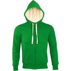 Kleidung Damen Sweatshirts Sols SHERPA WINTER WOMEN Verde