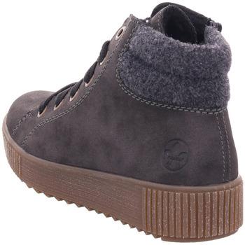 Rieker - Y6424-45 anthrazit/anthrazit 45 - Schuhe Sneaker High Damen 4795