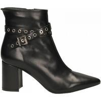 Schuhe Damen Low Boots Carmens Padova STEPHIE ROCK Tymus 19I nero