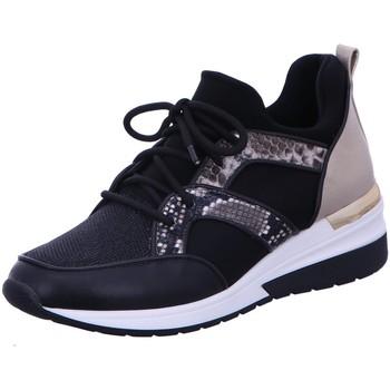 Schuhe Damen Sneaker Low La Strada Schnuerschuhe Wedge Sneaker 1901763-1503 schwarz