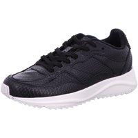 Schuhe Damen Sneaker Low Woden WL841 020 schwarz