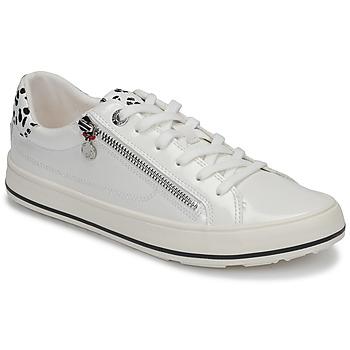 Schuhe Damen Sneaker Low S.Oliver NASTOUKI Weiss