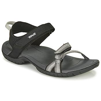 Schuhe Damen Sandalen / Sandaletten Teva VERRA Schwarz