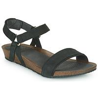Schuhe Damen Sandalen / Sandaletten Teva MAHONIA STITCH Schwarz