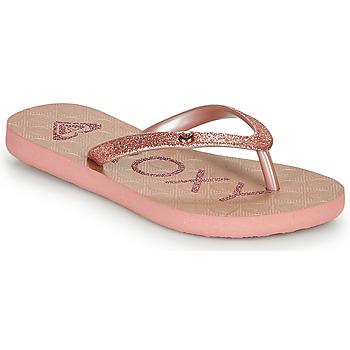 Schuhe Mädchen Zehensandalen Roxy VIVA GLTR III Rose