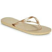 Schuhe Damen Zehensandalen Roxy VIVA V Gold