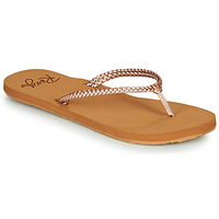 Schuhe Damen Zehensandalen Roxy COSTAS Rose / Gold