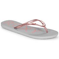 Schuhe Damen Zehensandalen Roxy VIVA SPARKLE Grau / Rose