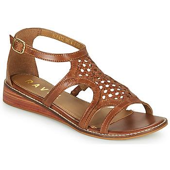 Schuhe Damen Sandalen / Sandaletten Ravel CARDWELL Braun