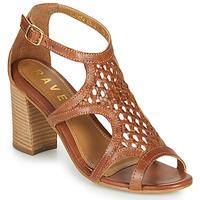 Schuhe Damen Sandalen / Sandaletten Ravel COREEN Camel