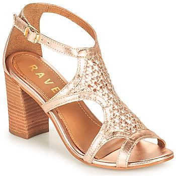 Schuhe Damen Sandalen / Sandaletten Ravel COREEN Rose / Gold
