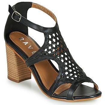 Schuhe Damen Sandalen / Sandaletten Ravel COREEN Schwarz