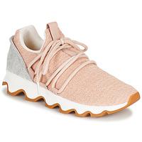 Schuhe Damen Sneaker Low Sorel KINETIC LACE Rose