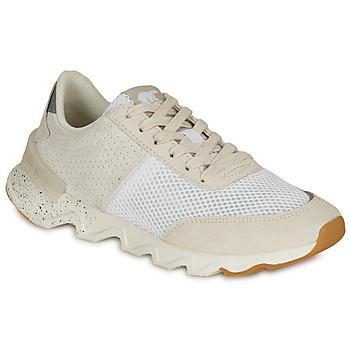 Schuhe Damen Sneaker Low Sorel KINETIC LITE LACE Weiss