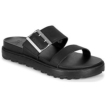 Schuhe Damen Sandalen / Sandaletten Sorel ROAMING BUCKLE SLIDE Schwarz